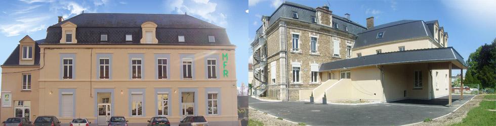MFR lucquy - B2 - facade et cours
